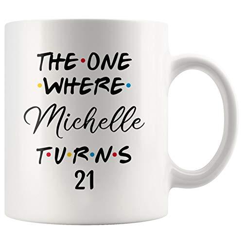 Personalized 21st Birthday Mug, 21 Birthday Mug, 21 Birthday Coffee Mug, Happy...