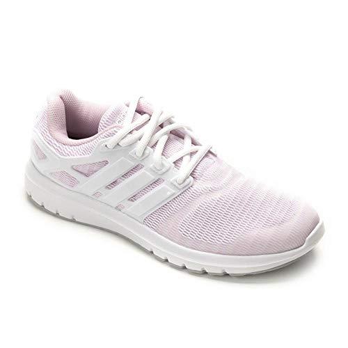 adidas Energy Cloud V - Zapatillas para mujer, talla 40, color blanco y rosa