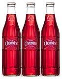 Cheerwine Glass Bottles 12 oz (Pack of 3)
