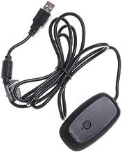 Xbox 360Récepteur Xbox 360PC adaptateur USB récepteur sans fil adaptateur pour manette de jeu pour PC Windows 7/8/10Xbo...