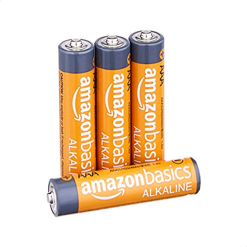 Amazon Basics AAA 1.5 Volt Performance Alkaline Batteries - Pack of 4