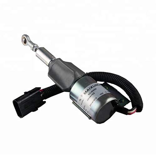 Solénoïde d'arrêt de carburant Sinocmp pour machines à carburant 6BT 5.9 Disel 5.9 - 3939703 SA-4892-24 24 V
