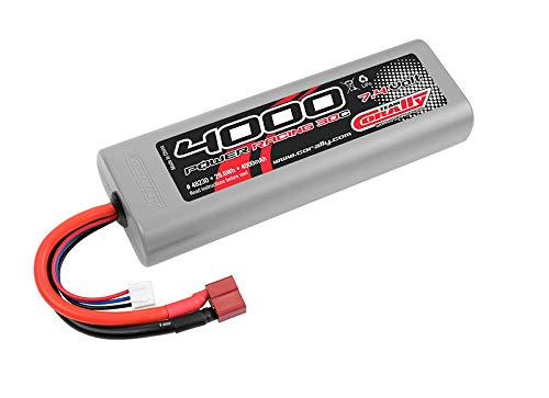 Corally Lipo 2S 7.4V 4000mAh 30C Hardcase C-48230-D