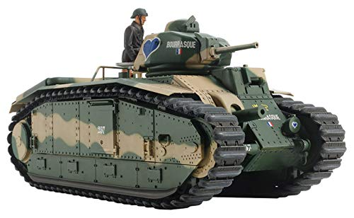 タミヤ 1/35 戦車シリーズ No.58 フランス陸軍 B1 bis シングルモーターライズ仕様 プラモデル 30058
