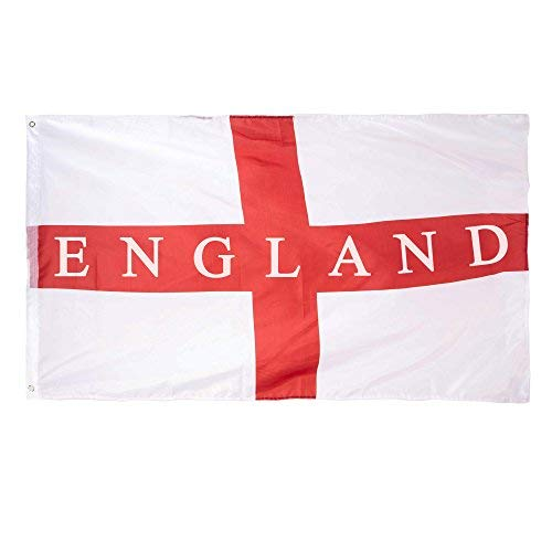 EURO 2016 England St George Cross 3x5ft Polyester Flag by Robelli