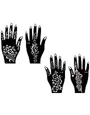 Tattoo sjabloon henna sjabloon 4 stuks set voor Pari