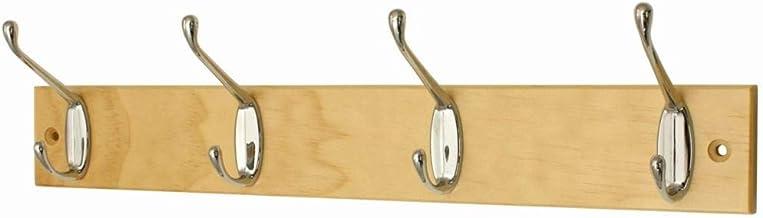 Headbourne hr0823h deurkapstok chroom met fixer 4 haken dubbel