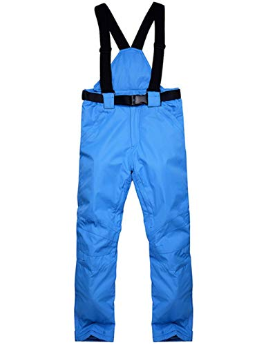 Kaimus Skihose Snowboardhose Schneehose Regenhose für Damen Herren Unisex - Wasserabweisende Damenhose, Verstellbarer Bund, abnehmbare Träger, Taschen - Ideale Skibekleidung zum Skifahren