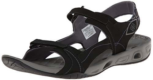Columbia Sunlight™ Vent II, Sandali da Donna, Nero (Black Charcoal 010), 41 EU