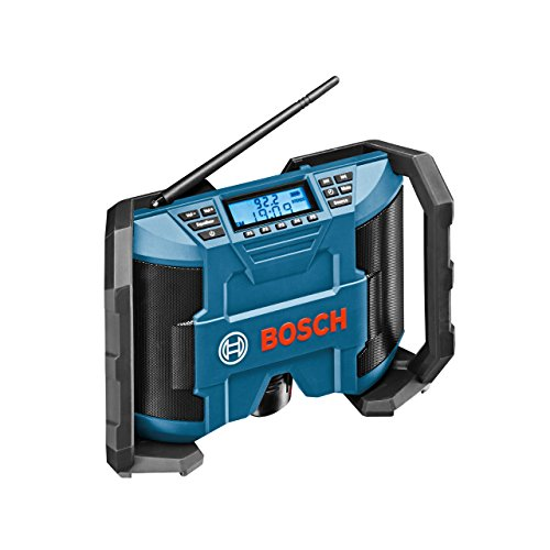 Bosch Professional GML 12V-10 Kabelloses Baustellenradio (ohne Akku und Ladegerät) – Karton