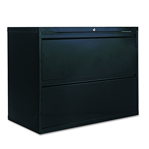 Big Sale Best Cheap Deals Alera LA523629BL 36 by 19-1/4 by 29-Inch 2-Drawer Lateral File Cabinet, Black