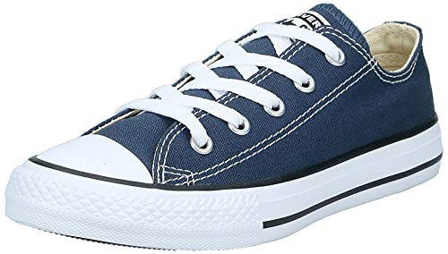 Converse Chuck Taylor All Star 3J237, Unisex - Kinder Sneakers, Blau (Navy), EU 31