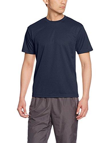 [グリマー] 半袖 4.4oz ドライTシャツ (クルーネック) 00300-ACT ネイビー 5L (日本サイズ5L相当)