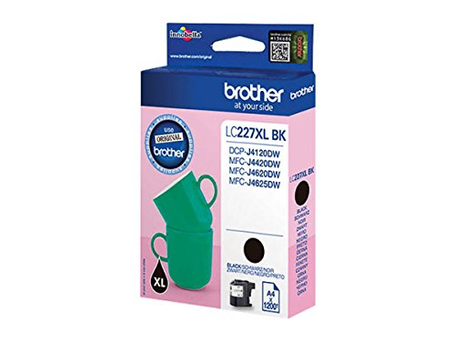 Brother original - Brother MFC-J 4420 DW (LC227XLBK) - Tintenpatrone schwarz - 1.200 Seiten - 25ml