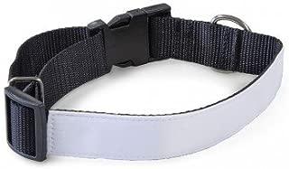 1 pcs. Blank Sublimation Blanks Adjustable Dog Collar Heat Transfer Dye sub