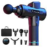 FYLINA Massage Gun Deep Tissue, 20 Speed Handheld Muscle Massage Gun, LED Indicator Touch Screen,...