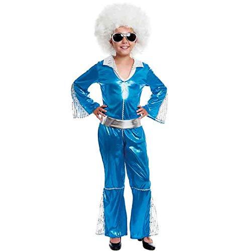 Disfraz Disco Girl Niña Carnaval Disco Década 70