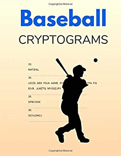 Baseball Cryptograms: Challenging Puzzles for Adults and Teenagers