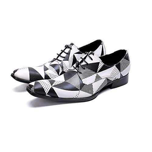 JFSKD Zapatos Formales de Hombre,Vestido de Tendencia Juvenil Casual Casual Transpirable en...