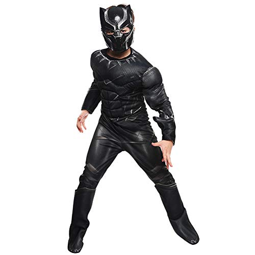 Kinder Cosplay Kostüm Panther Cartoon Marvel Comic Mottoparty Halloween Karneval