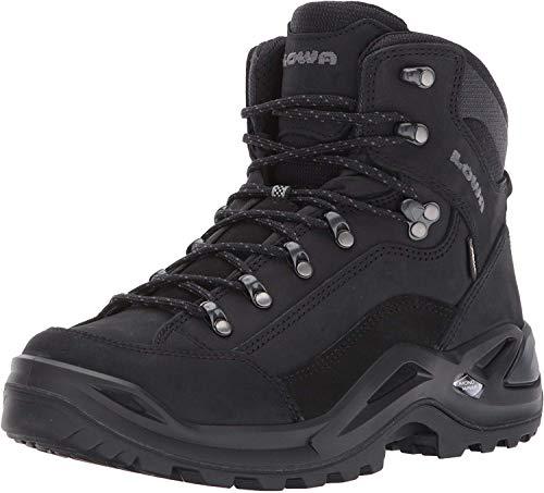 Lowa Men's Renegade GTX Mid Hiking Boot,Black/Black,10 W US