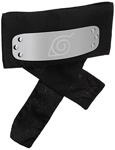 Great Eastern Naruto Shippuden GE-8676 Leaf Village Headband - Black