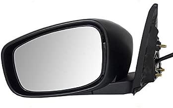 Koolzap For 10-13 G-37 Power Folding Heat w/o-Memory Rear View Black Mirror Left Driver Side