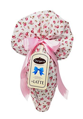 Uovo di Pasqua lavorazione Artigianale cioccolata al latte con sorpresa 500 gr
