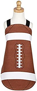 DII Kids Game Day Chef Apron Perfect For Cooking, Baking, Dress up, Fits Kids 2-6 years old - Football