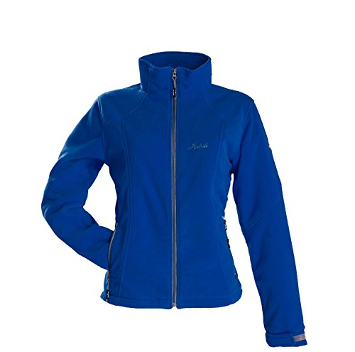 Fleecejacke outdoor warm Damen Kjelvik blau Gr. 40
