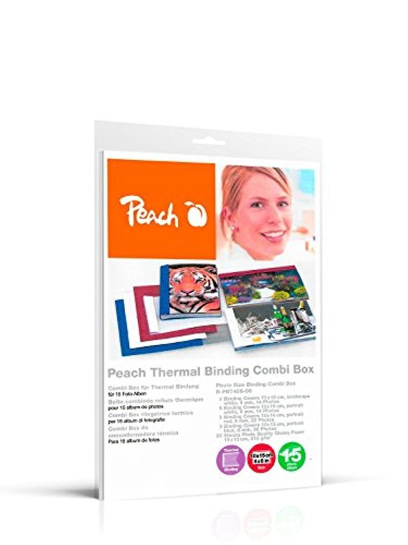 Peach R-PBT406-06 Photo Album Combi Box for 15 Albums