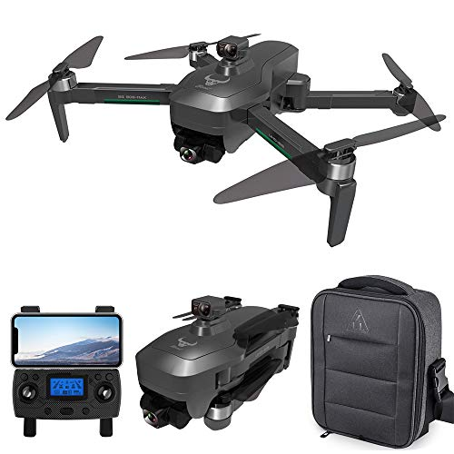 GoolRC SG906 MAX GPS Drone, 5G WiFi FPV Drone with 4K UHD Camera, 3-Axis Gimbal, RC Quadcopter with Brushless Motor, Optical Flow Positioning, Obstacle Avoidance Function, Follow Me and Storage Bag