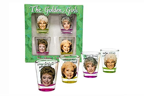 Best Golden Girls 1.5oz Shot Glasses For Parties, Game Night