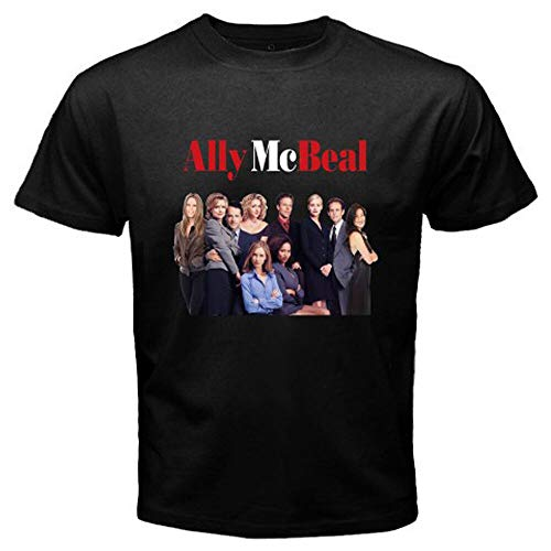 New Ally Mcbeal TV Serie Men's Black T-Shirt Size S to 3XL