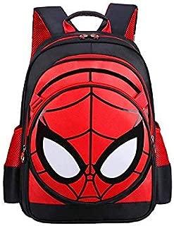 Boys Spiderman Backpack Waterproof Comic School Bag Bookbag for Primary school Junior high school School Gift