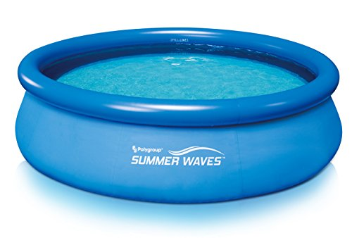Summer Waves 10'x30' Quick Set Above Ground Pool with RP350 Filter Pump, w/GFCI, D Type Filter Cartridge