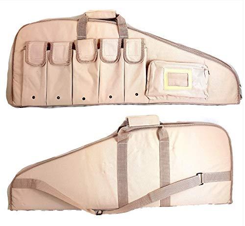 Armeriaonline Fodero tattico per carabina con Ottica Custodia carabina Aria compressa Custodia Fucile smontato