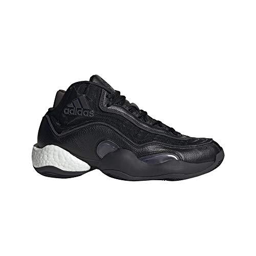 adidas 98 X Crazy Byw Zapatos de Balonmano Negro, 42
