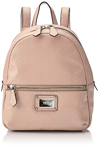 Guess Damen Shannon Backpack Rucksack, Weiß (Blush), 22x29x10.5 centimeters
