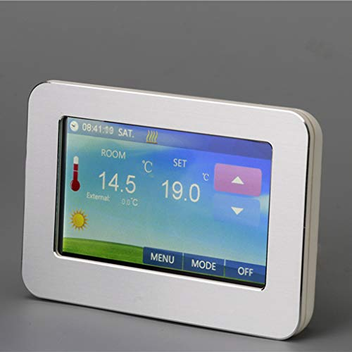 ADAHX Regulador de Control de Temperatura Inteligente, 4,3 Pulgadas de Pantalla táctil...