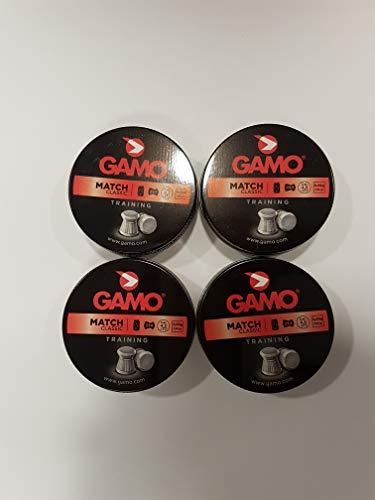 Gamo Pack 4 latas 250 balines Copa Match 4.5