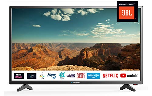Blaupunkt BLA-40/138Q-GB-11B4-FEGPF-UK 40 Inch HD Ready Smart LED TV with Freeview Play,3 x HDMI,...