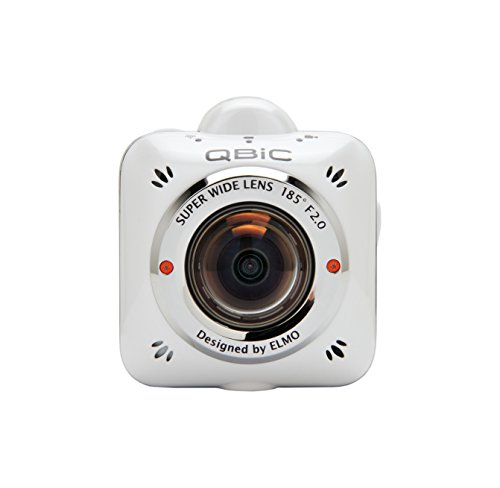 Elmo QBIC MS-1 5MP Full HD WLAN 93g Actionsport-Kamera - Actionsport-Kameras (Full HD, 1920 x 1080 Pixel, 240 fps, 800 x 480 Pixel, H.264,MP4, 720p,1080p)