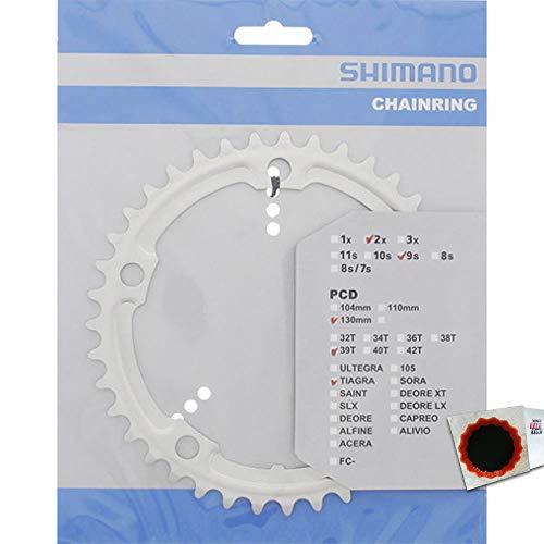 SHIMANO Kettenblätter TIAGRA FC-4500 39 Zähne 130mm Aluminium Silber Fahrrad