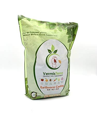 VermisTerra - Standard Earthworm Castings - Organic 10 LB