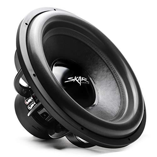 Skar Audio EVL-18 D4 18' 2500 Watt Max Power Dual 4 Ohm Car Subwoofer
