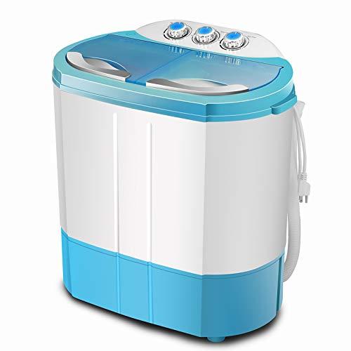 FitnessClub Portable Twin Tub Washing Machine 4.5 KG Total Capacity Washer...