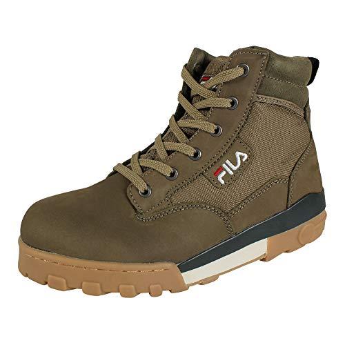 Fila Boots Herren Grunge II MID 1010700.50W Burnt Olive Grün Khaki, Schuhgröße:41
