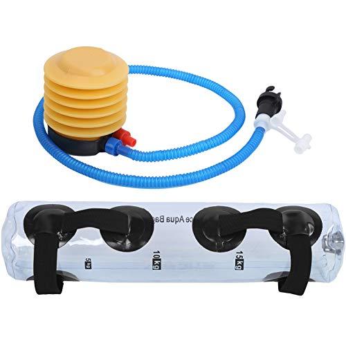 DAUERHAFT Bolsa de Agua de Peso con calibración Ajustable Aquabag Plegable Que Cabe fácilmente en Las Mochilas, para un Entrenamiento más cómodo