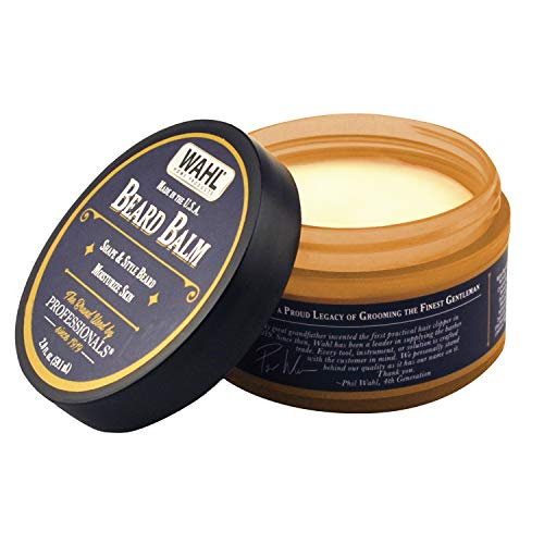 WAHL Beard Balm for Grooming with Essential Oils for Beard Shine, Polishing & Styling